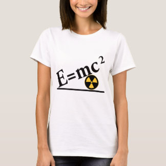 T-shirt E=mc2 encore