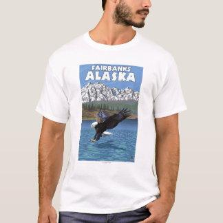 T-shirt Eagle chauve plongeant - Fairbanks, Alaska