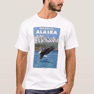 T-shirt Eagle chauve plongeant - Wrangell, Alaska