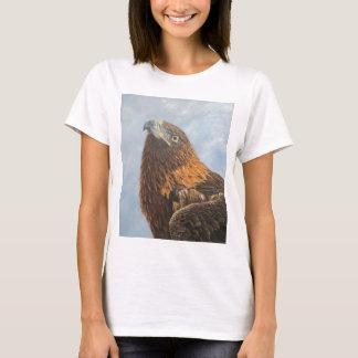T-shirt Eagle d'or majestueux
