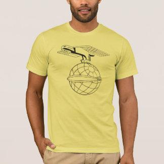 T-shirt Eagle et globe DZR