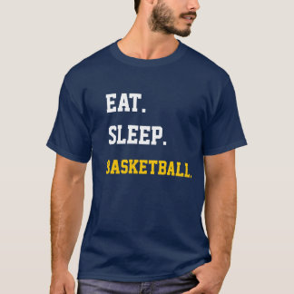 T-shirt Eat Sleep Basketball