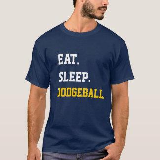 T-shirt Eat Sleep Dodgeball