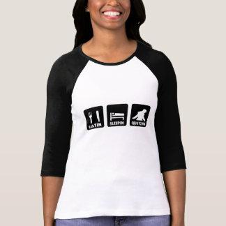 T-shirt Eatin Sleepin Squatchin