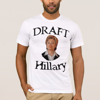 T-shirt Ébauche Hillary Clinton