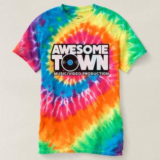 T-shirt écervelé de hippie