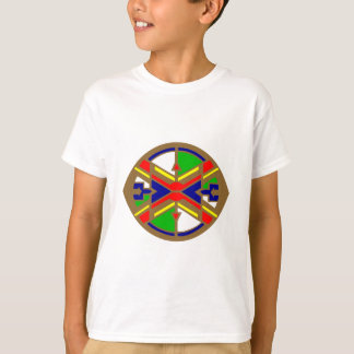 T-shirt Échantillon Indiens pattern Native American