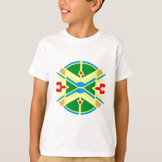 T-shirt Échantillon Native American indien pattern
