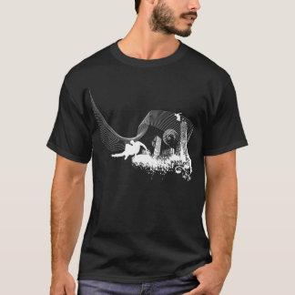 T-shirt Échappez à la ville (foncée)