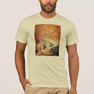 T-shirt Échelle William Blake de Jacobs d'art