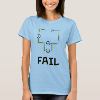 T-shirt Échouer de circuits