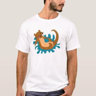T-shirt Éclaboussement de la loutre