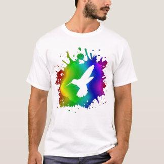 T-shirt Éclaboussure de colibri
