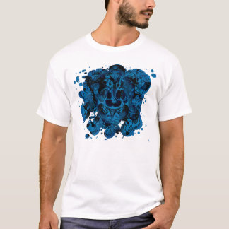 T-shirt éclaboussure de ganesh