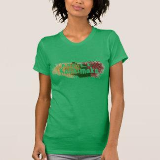 T-shirt Éclaboussure de scintillement de Mele Kalikimaka