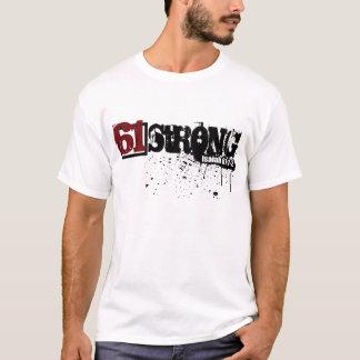 T-shirt Éclaboussure forte de la peinture 61 bilatérale