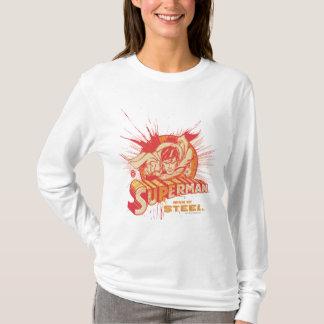 T-shirt Éclaboussure rouge de peinture