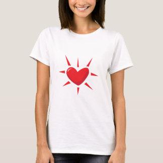 T-shirt Éclat de coeur
