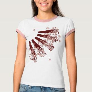 T-shirt Éclat de framboise