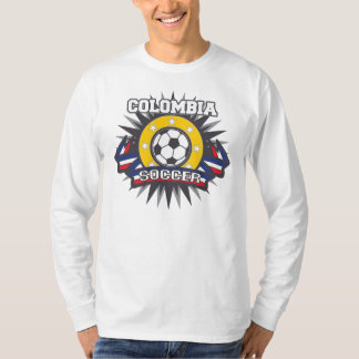 T-shirt Éclat du football de la Colombie