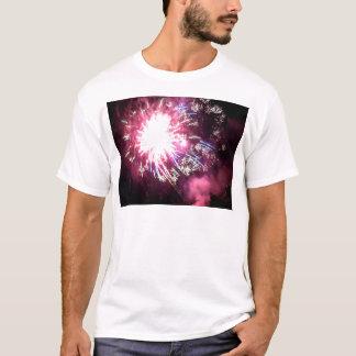 T-shirt Éclatement du rayonnement