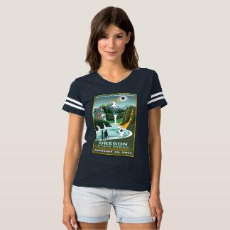 T-shirt Éclipse 2017 de parcs d'état de l'Orégon