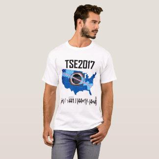 T-shirt Éclipse-nouvelle manière 2017 solaire totale
