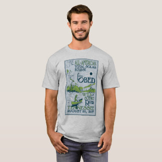 T-shirt Éclipse sauvage et pittoresque d'Obed de la