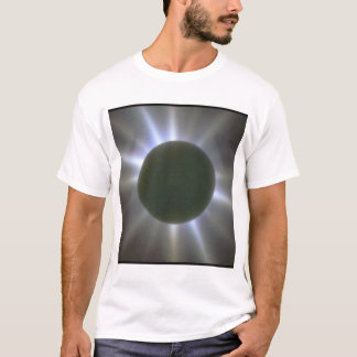 T-shirt Éclipse solaire. (éclipse ; scènes de light_Space
