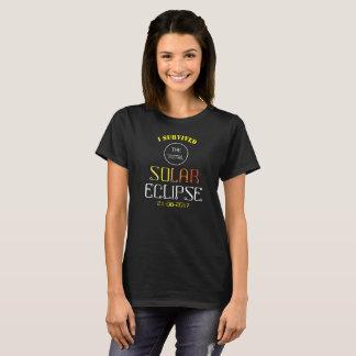 T-shirt Éclipse solaire totale 2017 -