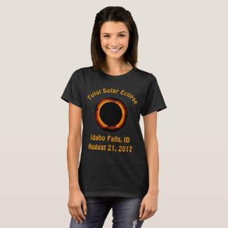T-shirt Éclipse solaire totale (automnes de l'Idaho,