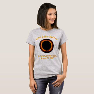 T-shirt Éclipse solaire totale (Charleston, Caroline du