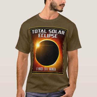 T-shirt Éclipse solaire totale de l'Indonésie (2016)