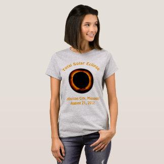 T-shirt Éclipse solaire totale (jefferson city, Missouri)