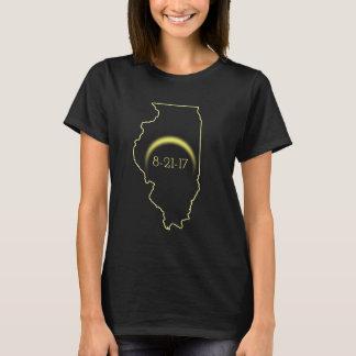 T-shirt Éclipse solaire totale l'Illinois 2017