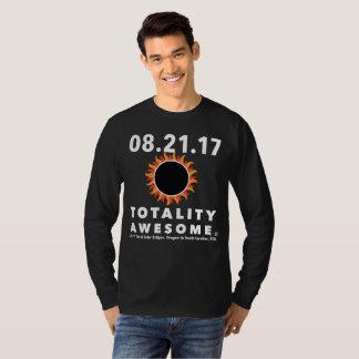 T-shirt Éclipse solaire totale tee - shirt impressionnant