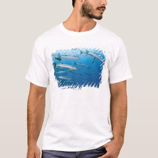 T-shirt École de barracuda de blackfin (qenie de