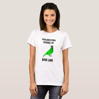 T-shirt École de Philadelphie de loi d'oiseau