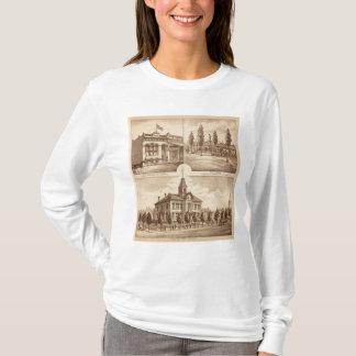 T-shirt École de Tulare, la Californie
