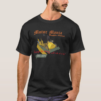 T-shirt École du trafic de manie de moteur