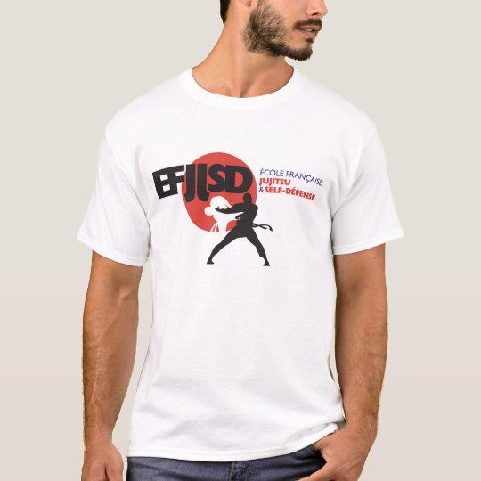 T-shirt Ecole Française de JuJitsu et Self-Défense