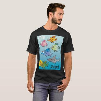 T-shirt École impaire