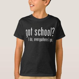 T-shirt École obtenue ?
