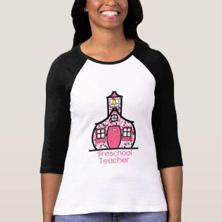 T-shirt École préscolaire d'éclaboussure de peinture de