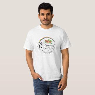T-shirt écologique de logo de station de vacances