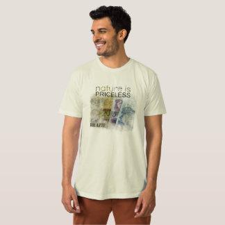 T-shirt écologique la nature n'a pas de prix