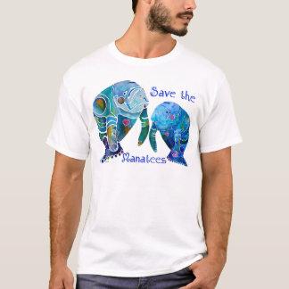 T-shirt Économies de la Floride les lamantins dans les