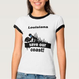 T-shirt Économies de la Louisiane notre côte