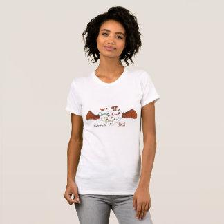 T-shirt Économies de soin d'amour par le rayon de Hailey