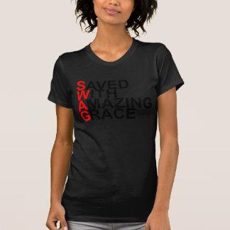 T-shirt Économisé avec stupéfier (SWAG) Grace.png